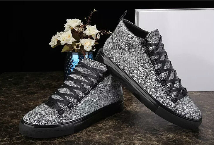 Hot selling glittering fashion man shoes lace-up flat autumn winter shoes brand leisure for men plus size 46 free shipping(China (Mainland))