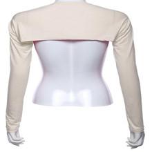 1pc/lot HOT SALE cover back shoulders full arm Muslim bolero shrug sleeve hijab Islamic Modal arm muslim oversleeve for women(China (Mainland))