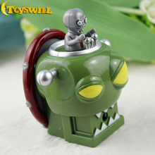 High Quality Novel Gift Plants Vs Zombies Jiangwang Fired Bullets PVC Figure Toys, TW23827(China (Mainland))