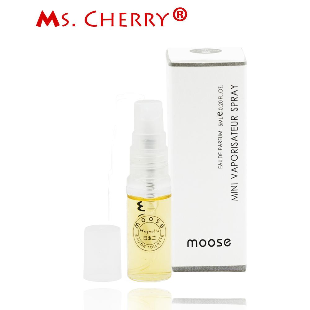 5ml Magnolia Sample Size Perfumes and Fragrances for Women Men Body Spray Fragrance Deodorant femme parfum MH028-24(China (Mainland))