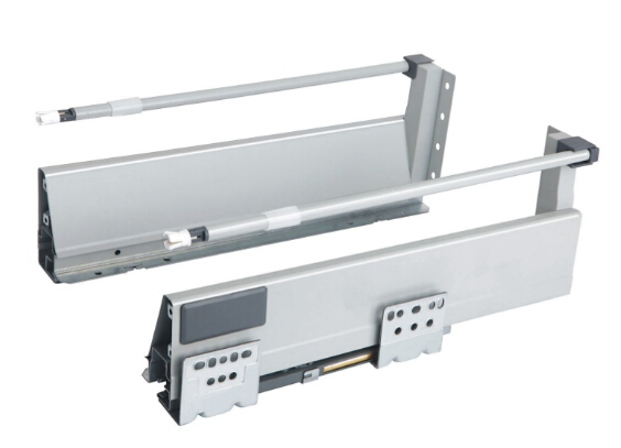 TK-W02 luxury metal box drawer slide with tube(China (Mainland))