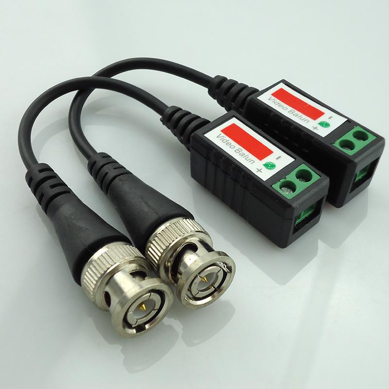 10pair Video Balun 3000Ft Distance Dvr Surveillance Twisted Cctv Video Balun Passive Transceivers Cctv Utp Balun Bnc Cable Cat5<br><br>Aliexpress