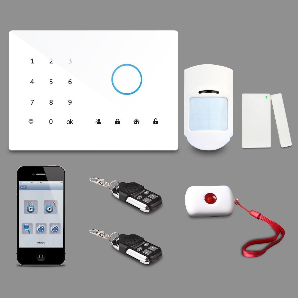 GSM home security system home burglar alarm system G2CW(China (Mainland))