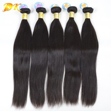 "Wholesale brazilian virgin hair straight hair extension free shipping 50pcs lot 12"" to 30"" in stock cheap human hair straight(China (Mainland))"