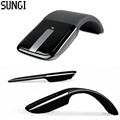 Hot Sale Flexible Design Foldable 2 4G Wireless Optical Mouse ARC Touch Computer Mice With USB