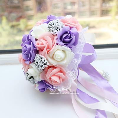 Pourpre de mariage bouquets achetez des lots petit prix for Bouquet pas cher livraison gratuite