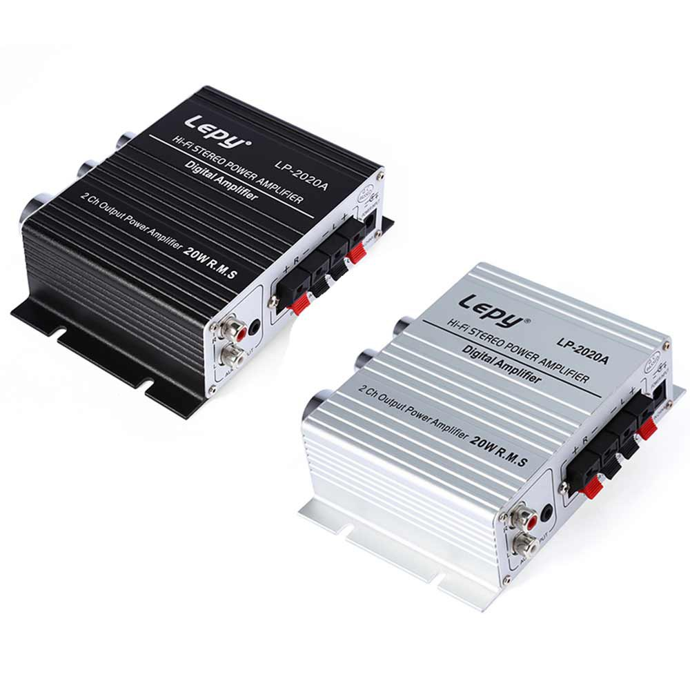 High quality US PLUG Lepy LP - 2020A HiFi Digital Stereo Amplifier with Over-current Protection with infrared remote control(China (Mainland))