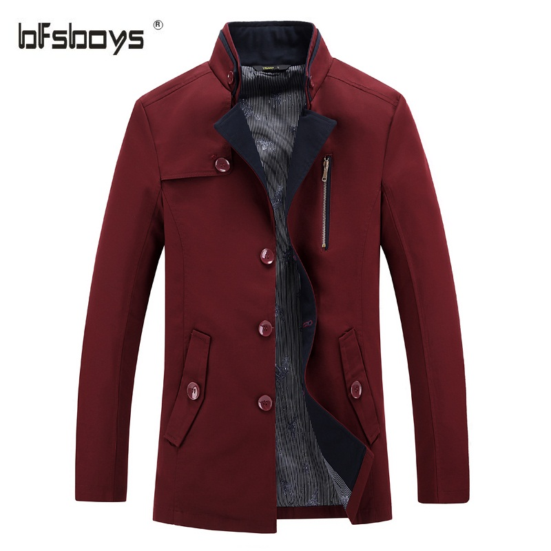 High Quality Red Trench Coat for Men-Buy Cheap Red Trench Coat for ...