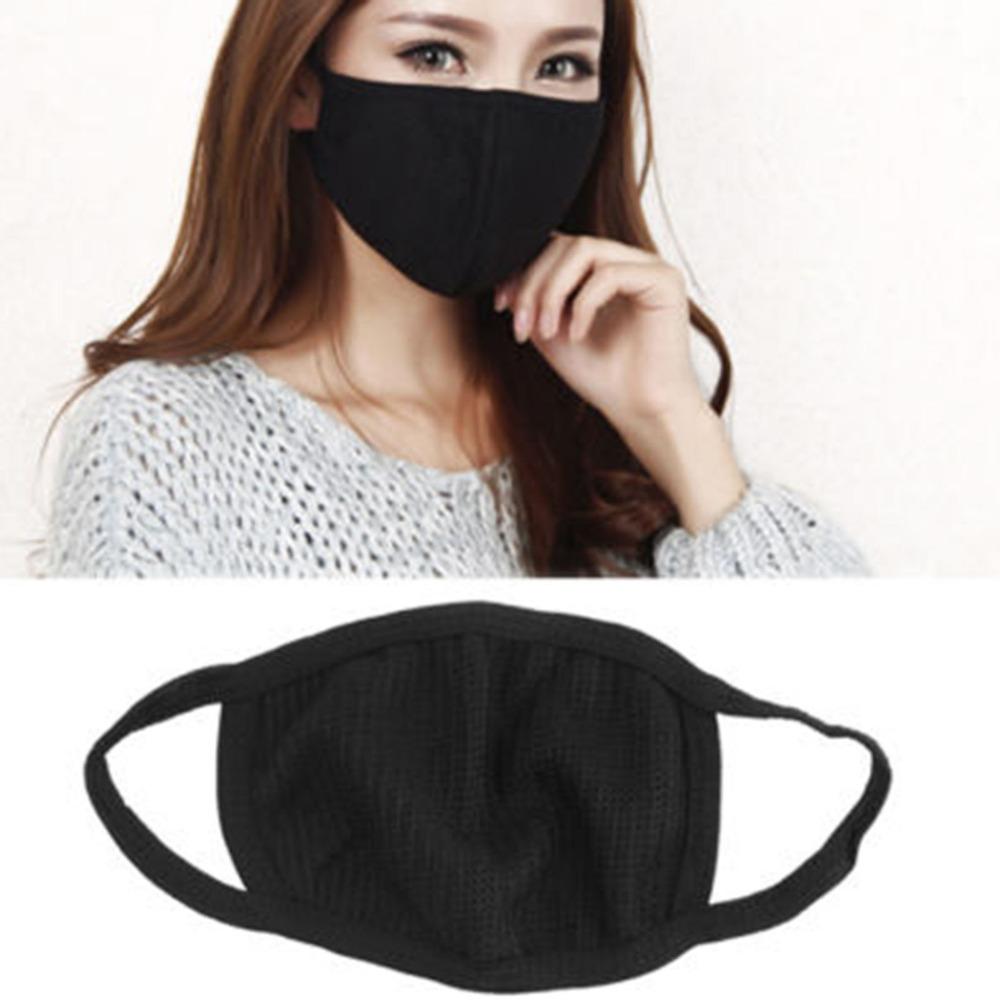 Черных тряпичных маска