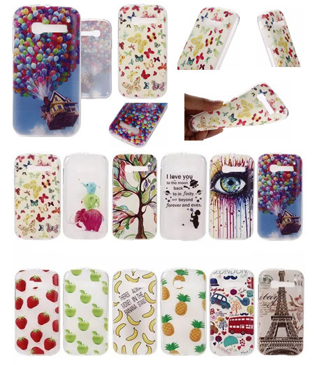 0.3mm ultra-thin TPU soft cell phone case for Alcatel One Touch POP C5 OT5036D Phone bag Free Shipping with fashion style(China (Mainland))