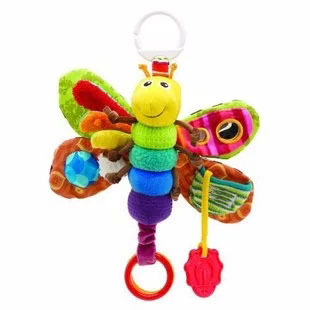 5pcs/set Free shipping multifunctional toy Butterfly Plush toys multi touch function hold my baby Bee plush toys(China (Mainland))