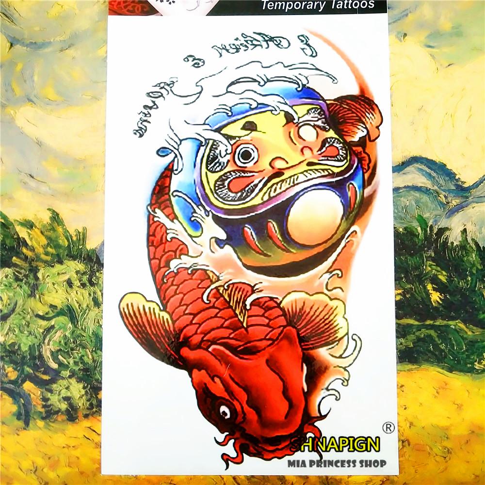 Achetez en gros koi tatouage temporaire en ligne des for Grossiste carpe koi