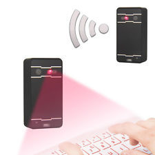 HOTSelling! Wireless Virtual Laser Keyboard with Mouse though USB or Bluetooth for ipad mini PC Tablet Laptop(China (Mainland))