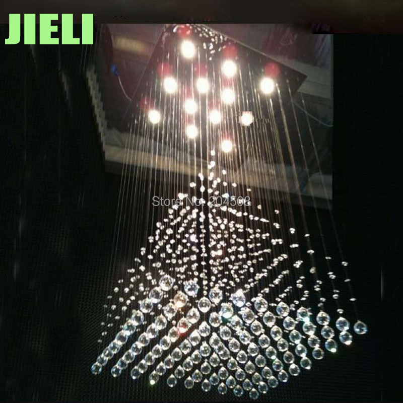 Free Shipping Contemporary Crystal Chandelier Lighting W700*H1200mm Modern Lighting Chandelier Crystal Lamp<br><br>Aliexpress
