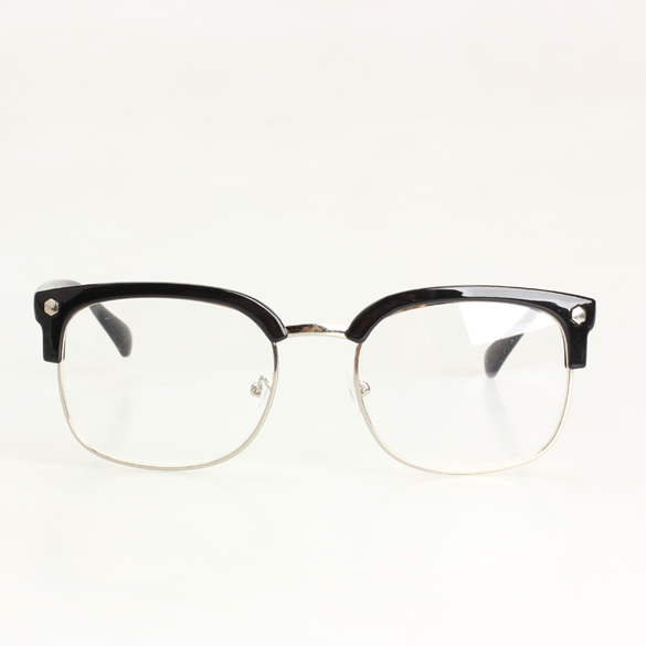 Fashion New Unisex Plain Spectacles Nerd Glasses Brilliant ...