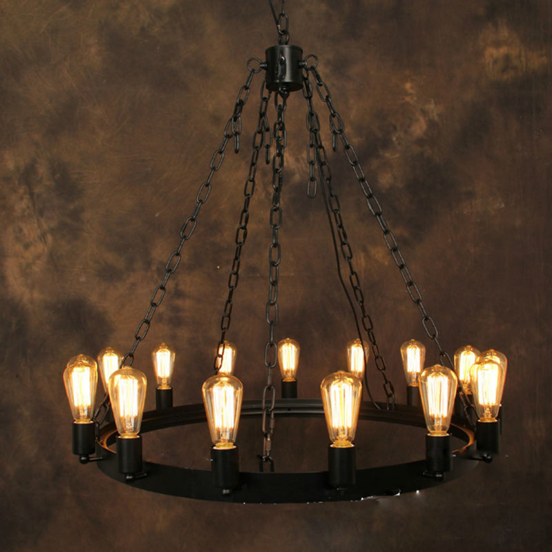 Industrial style chandelier industrial chandelier Industrial style chandeliers