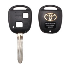2 BUTTON REMOTE KEY FOB CASE FOR TOYOTA CAMRY RAV4 PRADO COROLLA TARAGO AVENSIS AVALON EHCO LAND CRUISER CAR KEY SHELL COVER