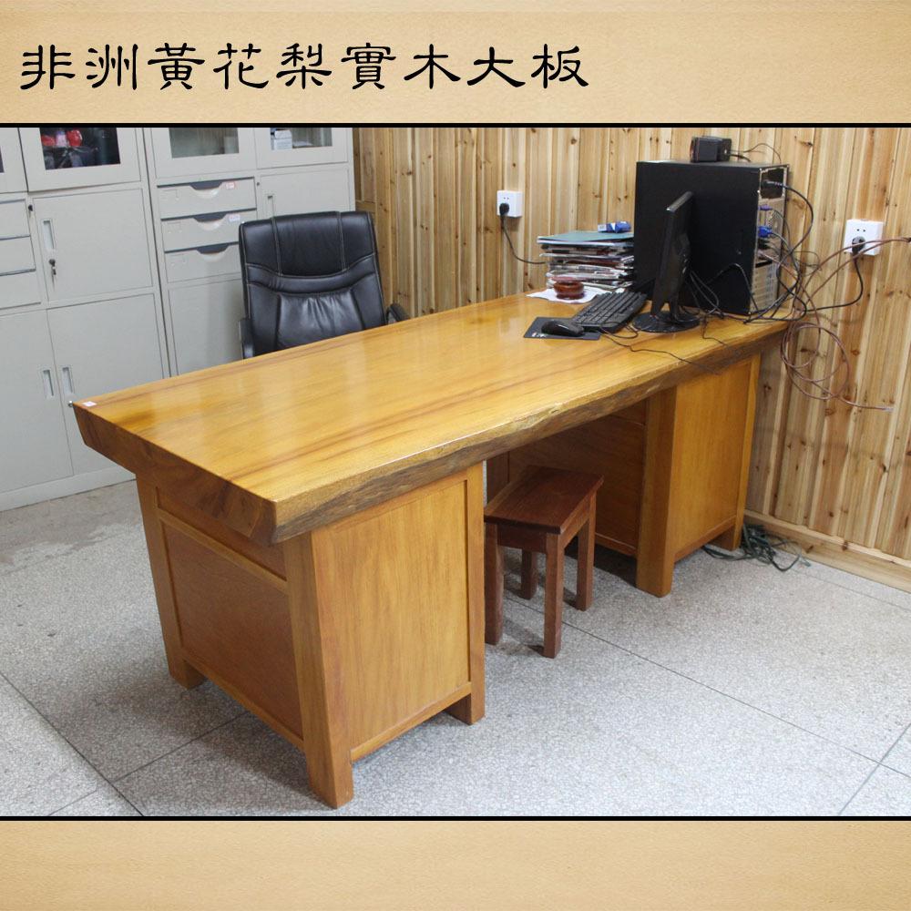Poire africaine dalle de bois manger tables de bois d for Meuble d ordinateur bureau en gros