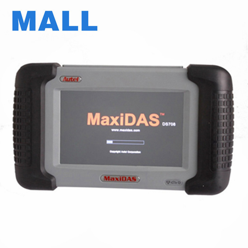 Hot Sale Newly 100% Original Autel Maxidas DS708 Update Online Auto Diagnostic Scanner 3 Years Warranty Free Shipping(China (Mainland))