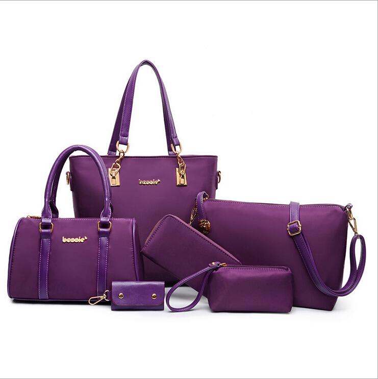 Awesome Online Set Women Handbags PU Leather Women Messenger Bag Business Hot