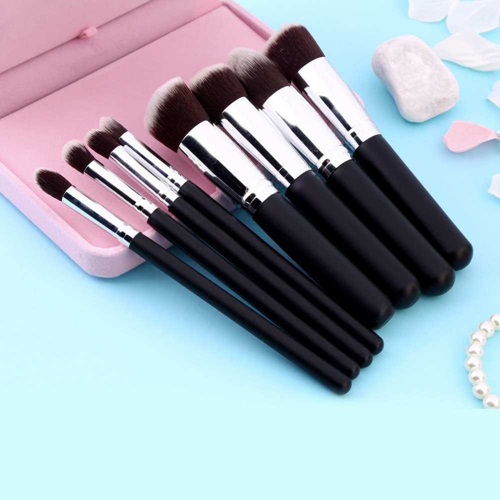 Hot selling 8pcs Synthetic Hair Makeup Brush Set Powder Foundation Blushes Brushes<br><br>Aliexpress