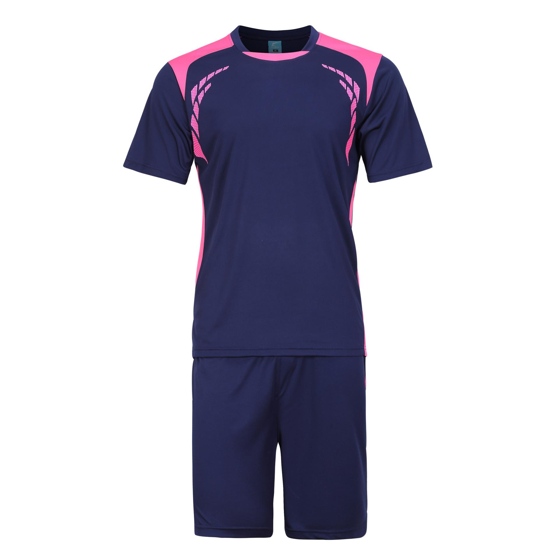 LIBO 2016 New Soccer Jersey Set Kids Football Kits Youth Men Futbol Training Suit Blank Breathable Short Sleeve Tracksuits(China (Mainland))