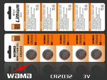 5x Wama CR2032 BR2032 DL2032 SB-T15 EA2032C ECR2032 L14 L2032 CR 2032 Li-ion Lithium 3V Button Cell Coin Battery Car Remote