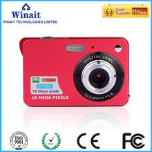 Free shipping 2016 Newest Professional mini HD 18MP Digital Camcorder Camera 8x Digital Zoom Anti-shake Camera(China (Mainland))