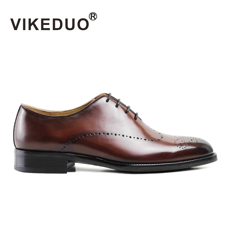 Newest 2016 flat shoes Mens Oxford party Shoes wine red wedding Dress shoes Genuine leather shoes hand painted Second To Berluti(China (Mainland))