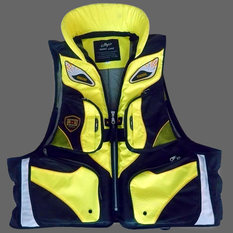 Survival Life Jacket Floating Material Removable Professional Life Vest for Fishing Boating Drifting Safety Swimming Vest(China (Mainland))