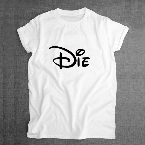 DIE sublimation t shirt 1