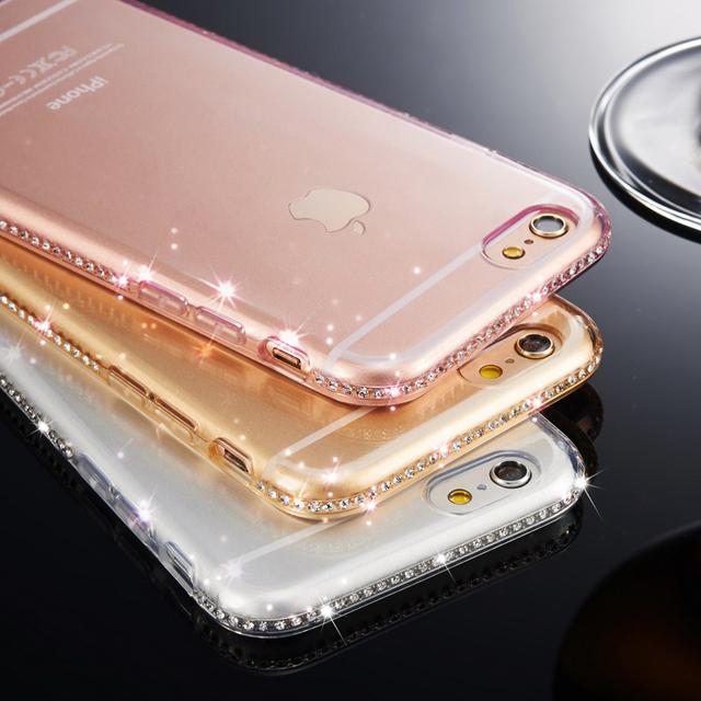 Case Iphone 5/5S/SE/6/6S/6Plus/6SPlus/7/7Plus Luxury Diamond różne kolory