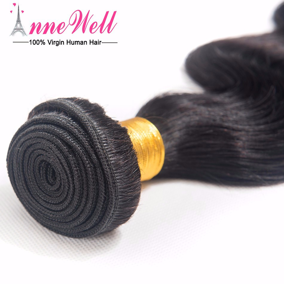 4 Bundles Peruvian Virgin Hair Body Wave 6A Unprocessed Virgin Human Hair Peruvian Hair Bundles Natural 1B Human Hair Extensions