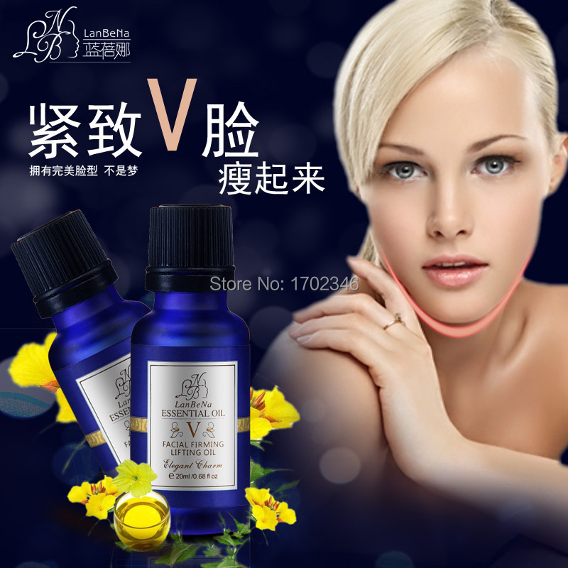 LANBENA 4D Facial Lifting Firming Essential Oil Face Care Skin Slimming Cream Facial Cream Removing Double