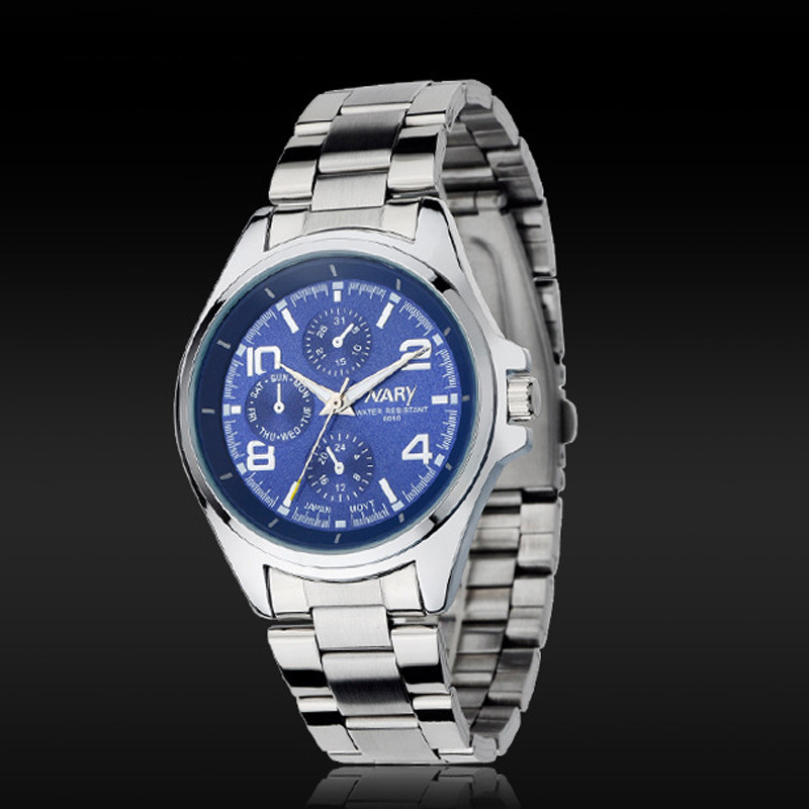 New Design New Arrival Classic Men s Quartz Movement Analog Display Stainless Steel Band Wrist Watch