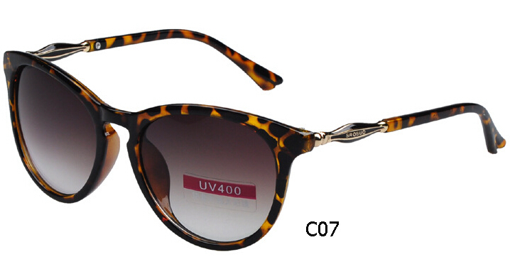 Fast shipping china cheap quality sunglasses womens 2015 new vintage women's sunglasses big frame lenses brand designer eyewear(China (Mainland))