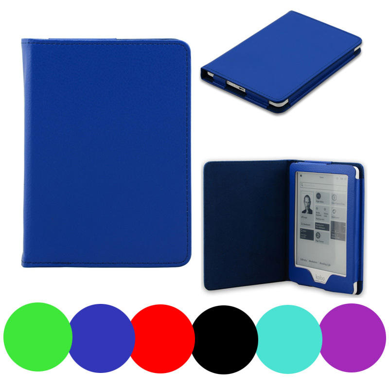Здесь можно купить  50Pcs Smart PU leather case cover for Kobo Glo 6 inch Ebook Ereader free shipping  Компьютер & сеть