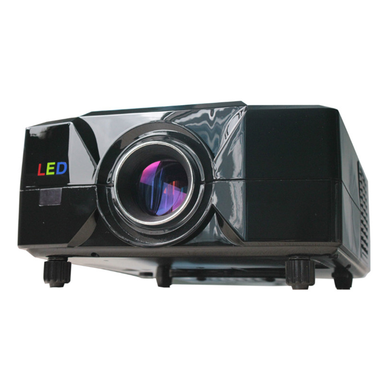Free Shipping!!! cheap projector low cost proyector for 3D movie and game 2200 lumens with HDMI&USB&remote control(China (Mainland))