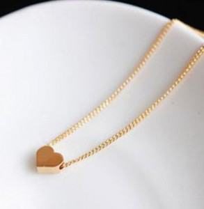 2015 New *high quality Personalized love hearts necklace short paragraph fashion necklaces & pendants necklaces X-013(China (Mainland))