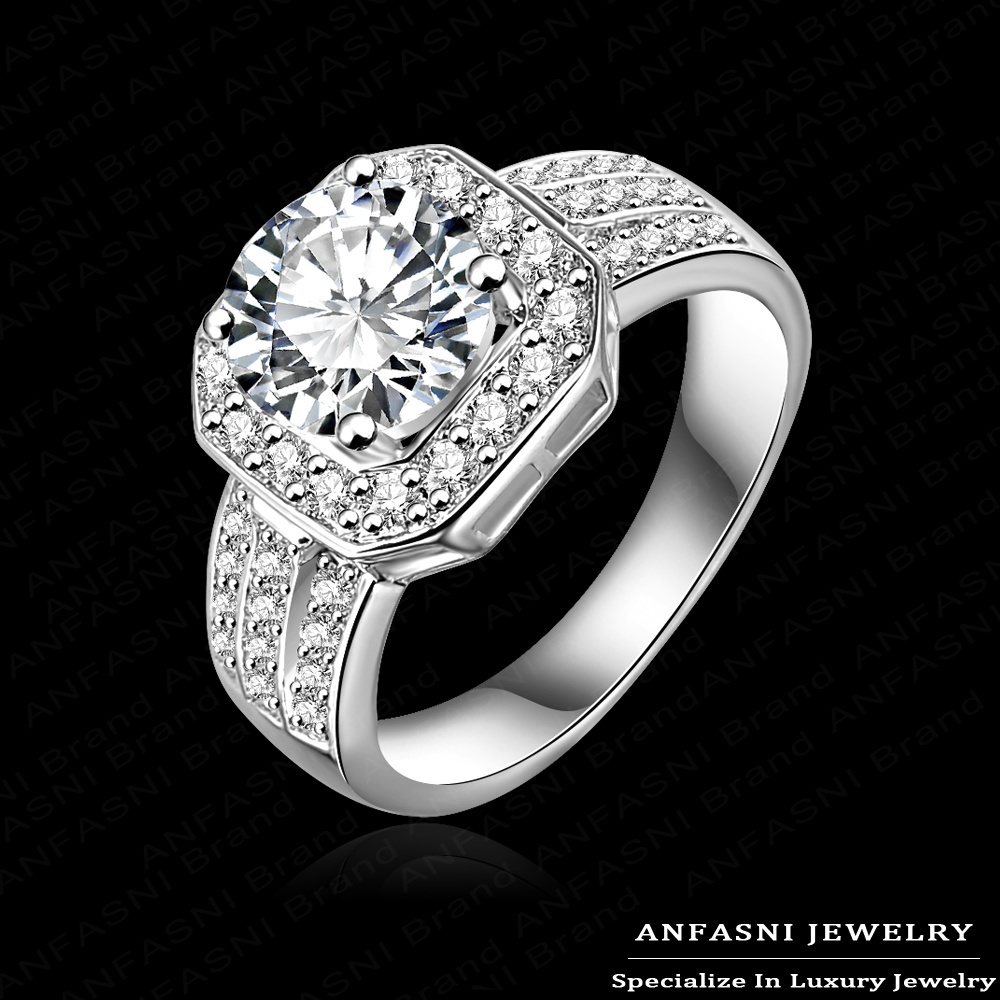 Pave Diamond Fashion Rings Fashion Jewelry Queen Rings