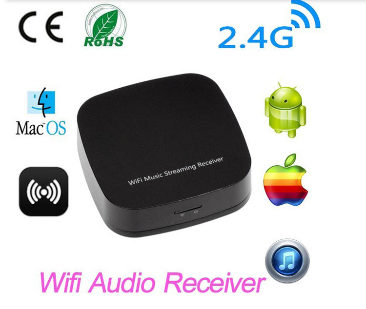 Music Radio Receiver Wireless Wifi Audio Streaming Receiver Wifi Audio Receiver DLNA Airplay Sharing Music for iOS/Android<br><br>Aliexpress
