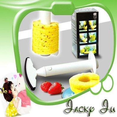 10pcs/Lot New Easy Cut Fruit Pineapple Peeler Corer Slicer Parer Cutter Tool