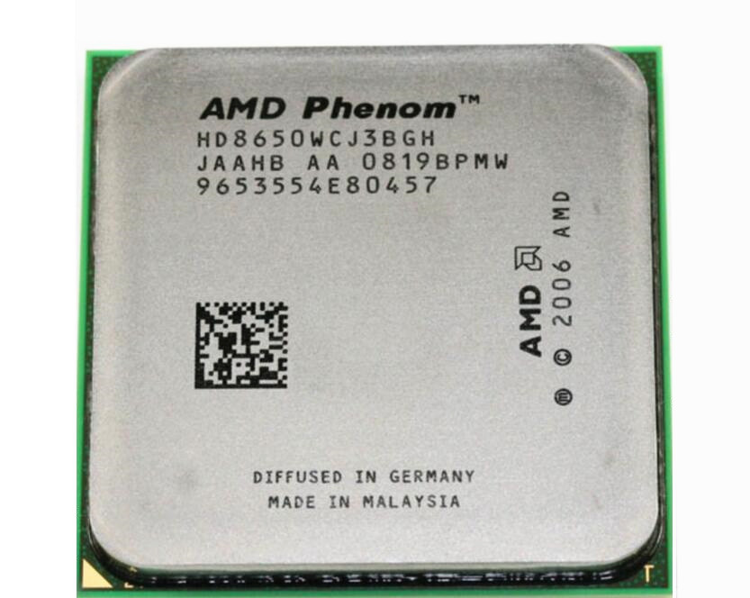 For AMD Phenom X3 8650 2.3GHz Triple Core Processor Socket AM2/AM2+ 940-pin cpu, 95W L3=2M(China (Mainland))