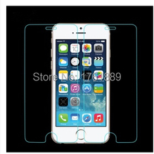 free shipping clear pelicula de vidro 0.3mm ultrathin tempered insulated glass screen protector on phone for iphone 6 iphon