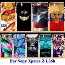 Buy Panda Tiger Cat Painted Phone Cases Covers Sony Xperia Z L36h C6602 C6603 L36i Shell Hood Hard Plastic Protector Housing Bag for $1.98 in AliExpress store