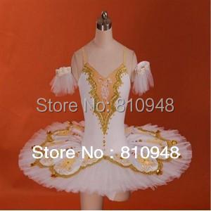 Adult White ballet tutu,ballet tutu Swan Classical Tutu, Professional Ballet Tutus flowers,tutu dance - Octavia Dance Apparel Manufactory store