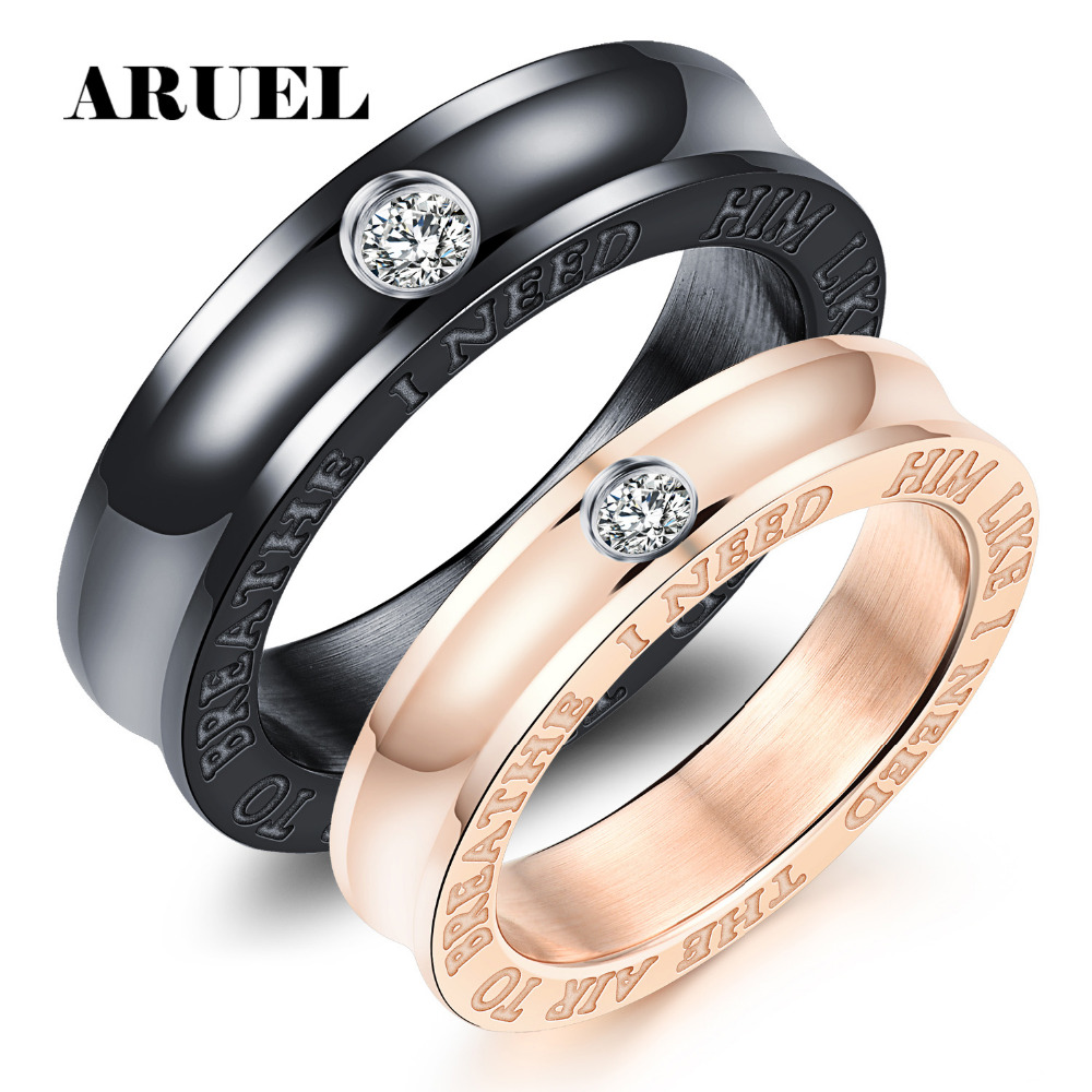 bronze wedding band simple engagement unisex wedding bands Unisex Wedding Ring FREE Personalized Wedding Ring Brushed zoom