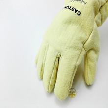 Противопожарные glovesNFRR 500 градусов высокая термостойкость перчатки алюминиевой фольги теплоизоляция анти-ошпарить резки перчатка безопасности