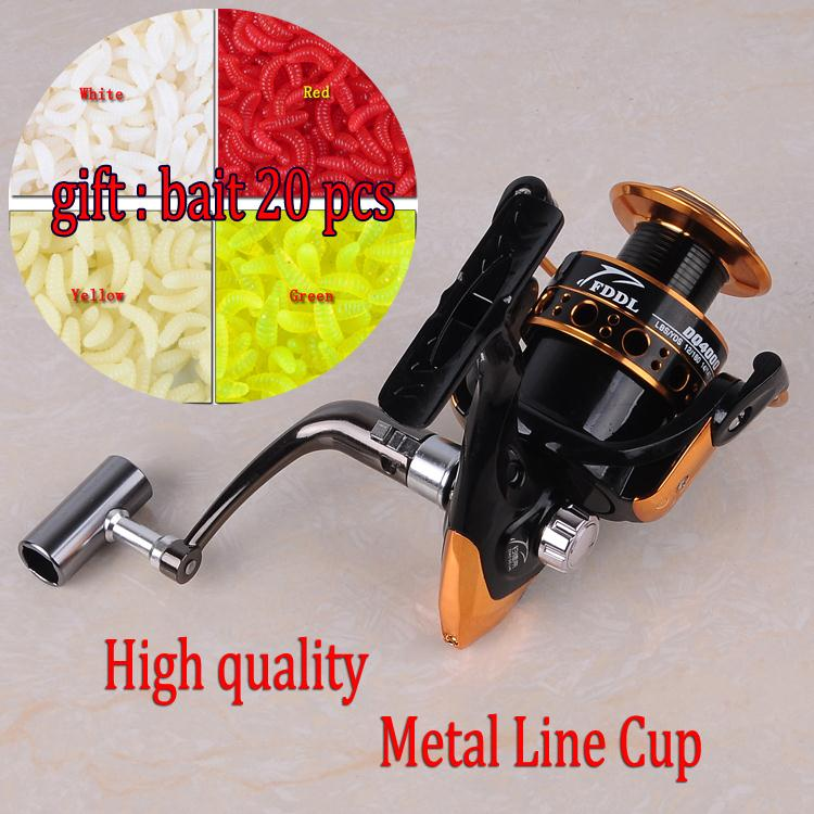 2015 New Fishing Reel German technology 12+1 BB 1000 - 6000 series spinning reel discount hot sale for simano feeder fishing(China (Mainland))