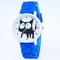 Fashion Kimi Cat Children Quartz Watch Silicone Jelly Casual Wristwatches for Women Men Cute Lovely Watches